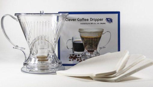Pack Clever Dripper + 40 filtros + 250gr de café