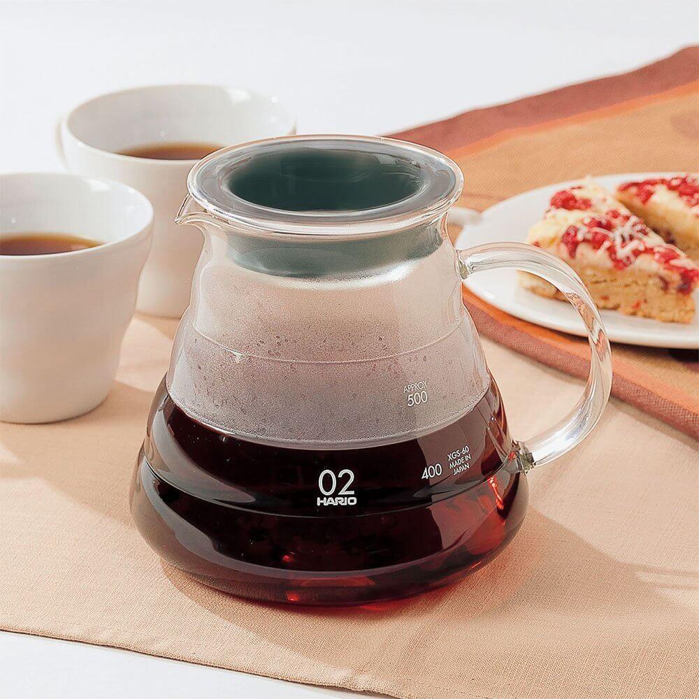 Servidor de café Hario V60 Range - 600ml